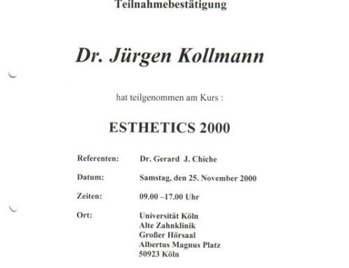 ESTHETICS 2000